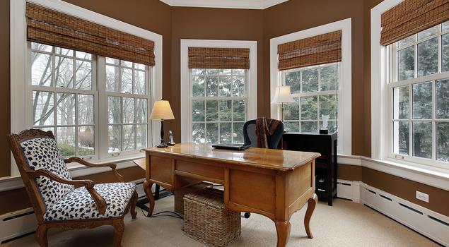 Współczesna przestrzeń do pracy w domu